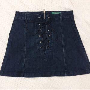 {Signature Eight} Denim skirt
